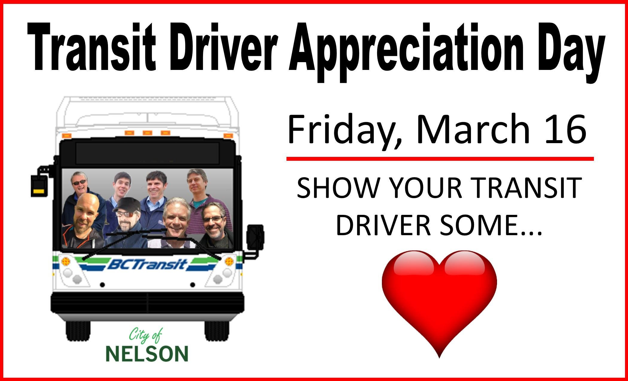 transit driver appreciation