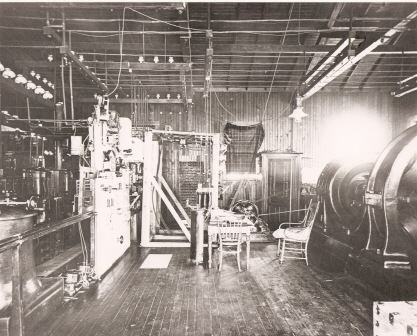 Interior of original plant