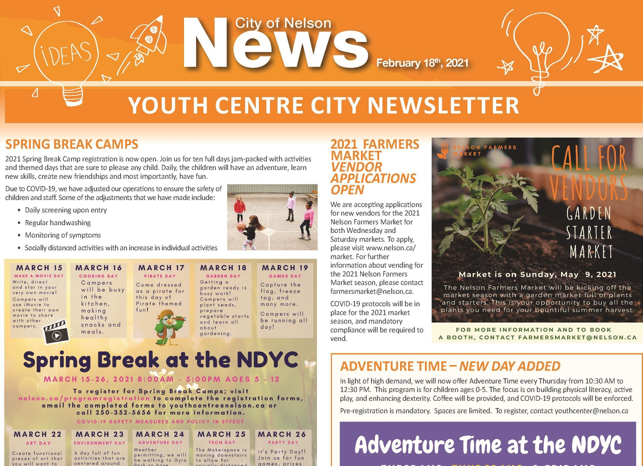 Youth Centre February 2021