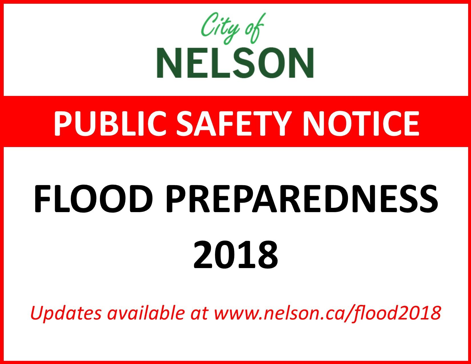 Public Safety Notice Flood