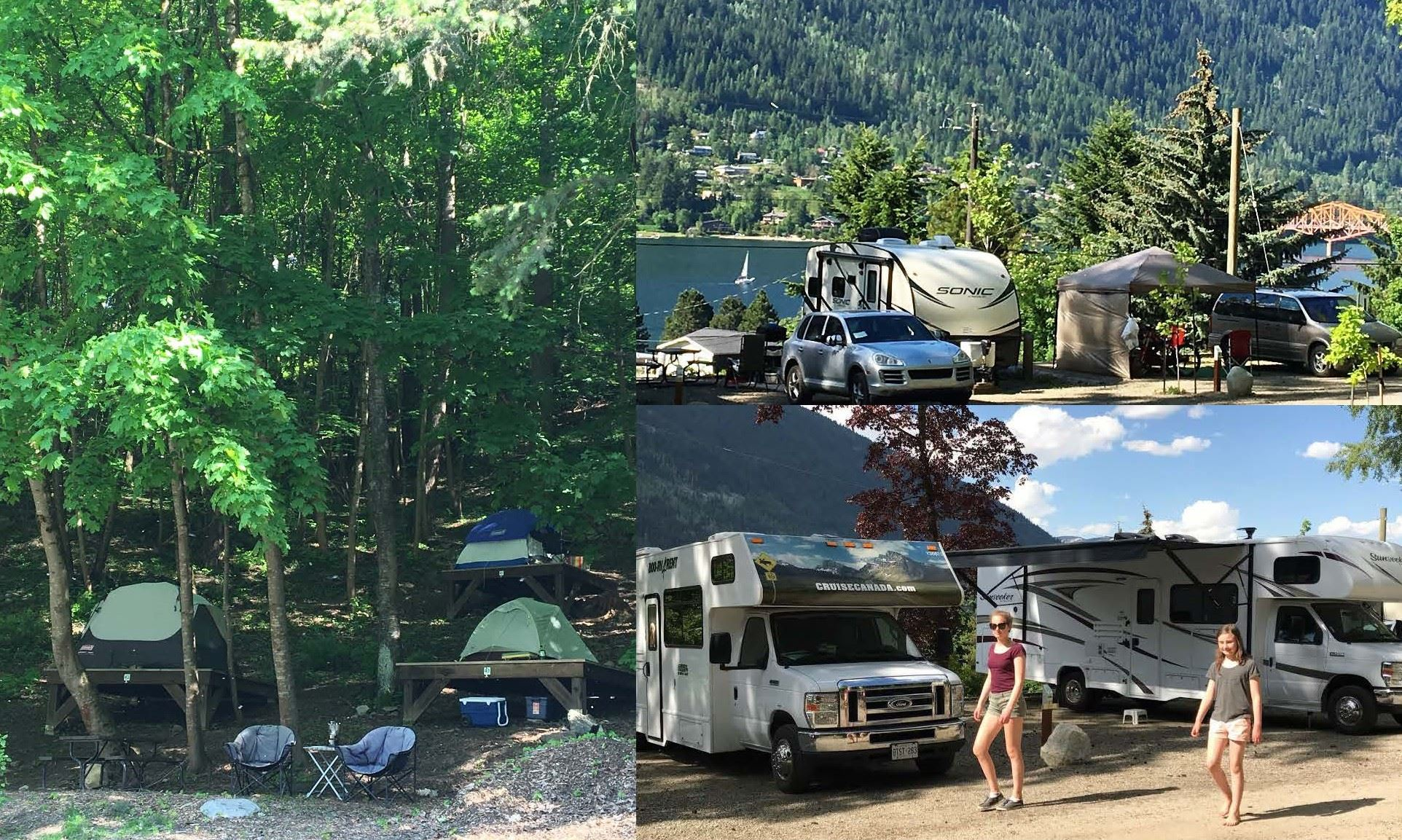 full hookup campgrounds bc