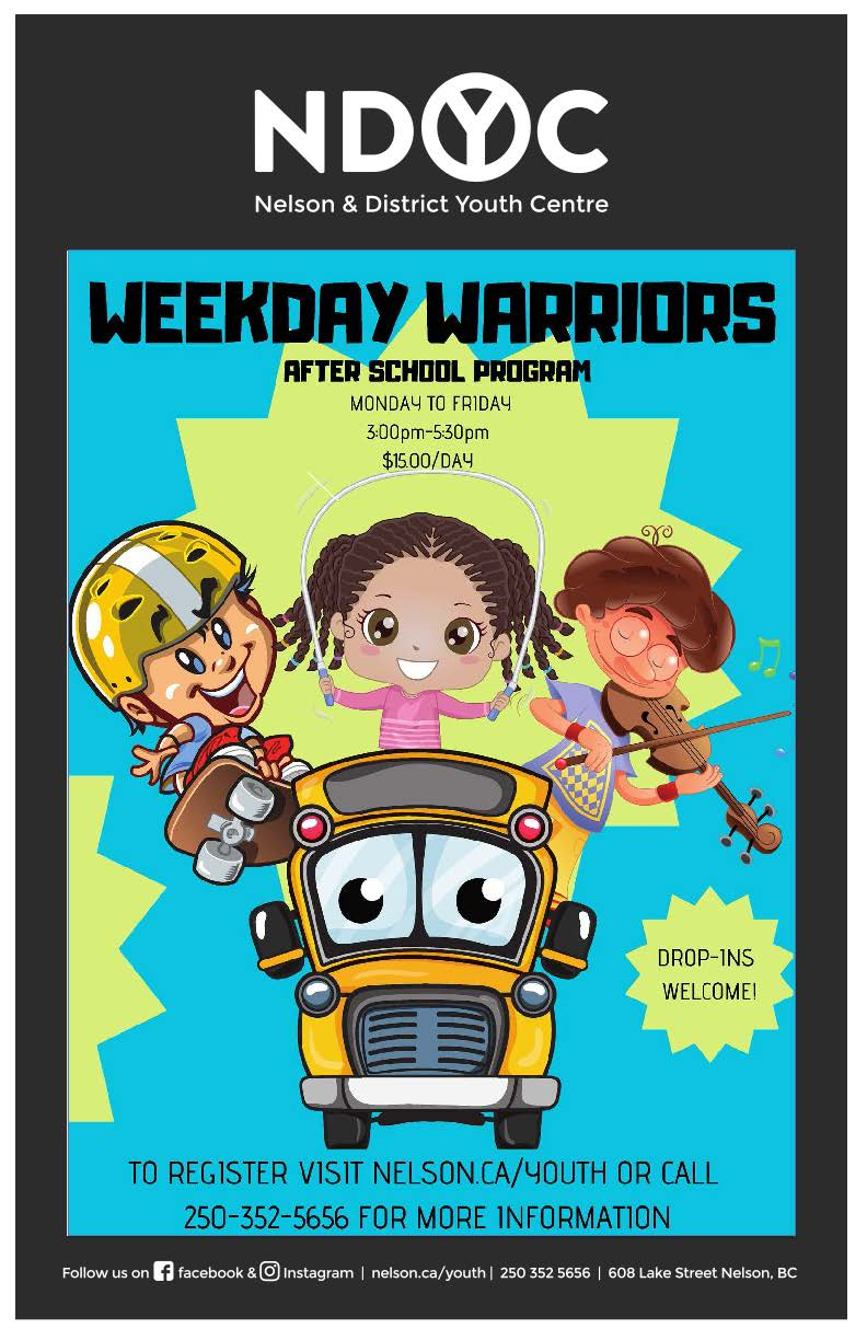 Weekday warriors poster 2018