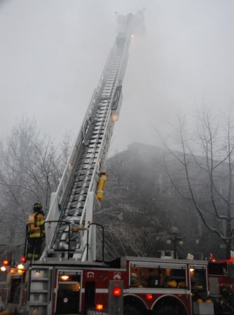 Ladder Truck day